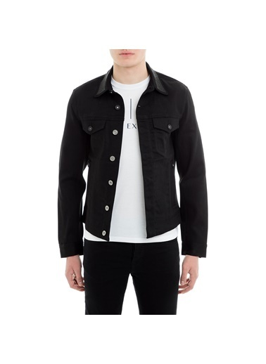 Armani Jean Ceket Siyah